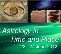 Sophia Centre Conference: Astrology in Time And Place